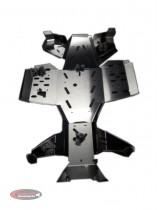 Yamaha Grizzly 550 700 aluminiowe osłony spodu