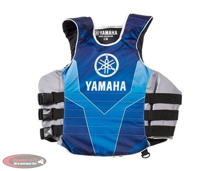 Kapok niebieski roz. L/XL Yamaha Mens Side-Entry Nylon MAR-15VSE-BL-LX