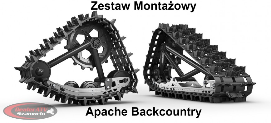 Can-Am Outlander Renegade 2019r Zestaw Montażowy Gąsienic Apache Backcountry 715004796